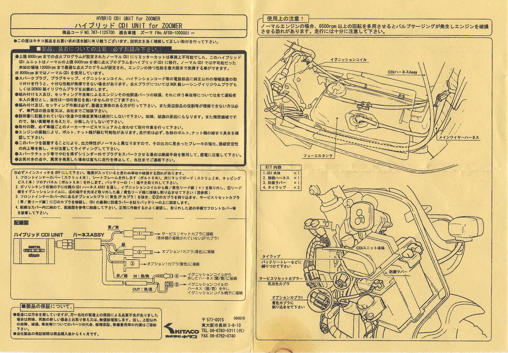 Kitaco Cdi Documentation