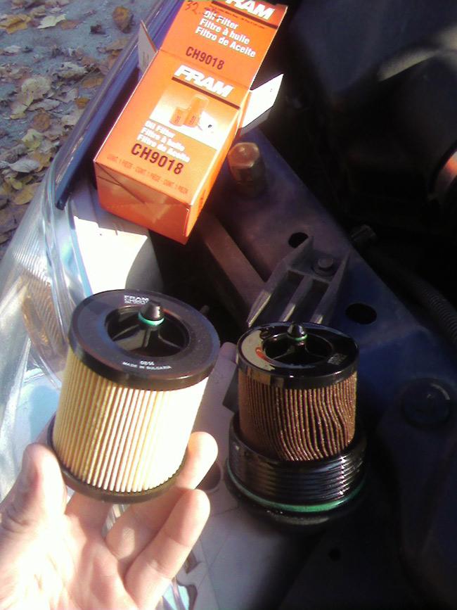 Chevrolet Cobalt Oil Filter