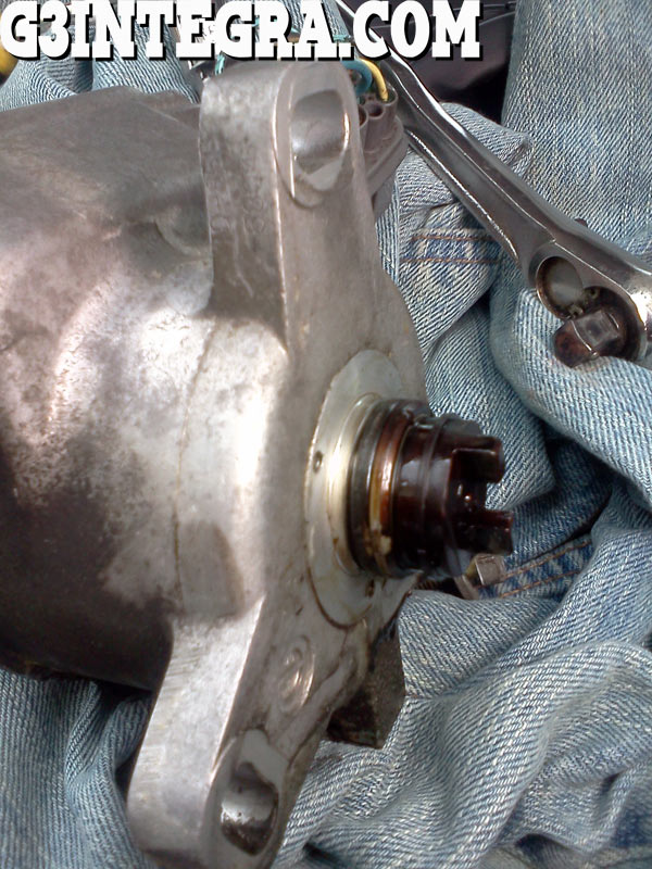Removing The Integra Distributor To Replace The Oring Acura - Acura integra distributor